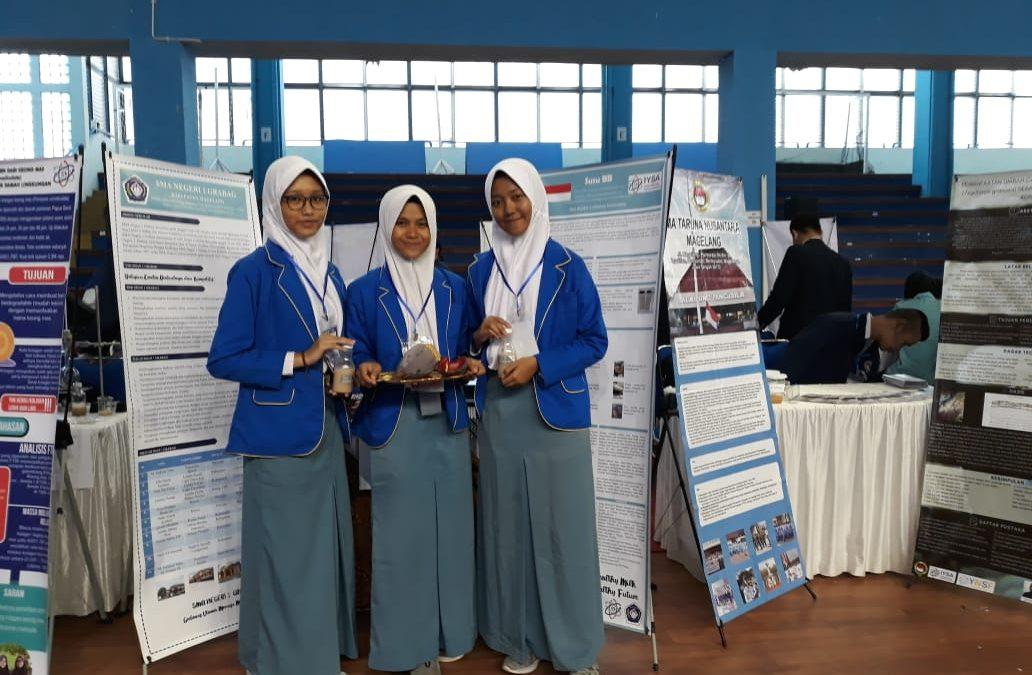 Siswa SMA Negeri 1 Grabag mengikuti Youth National Science Fair (NSF) 2019