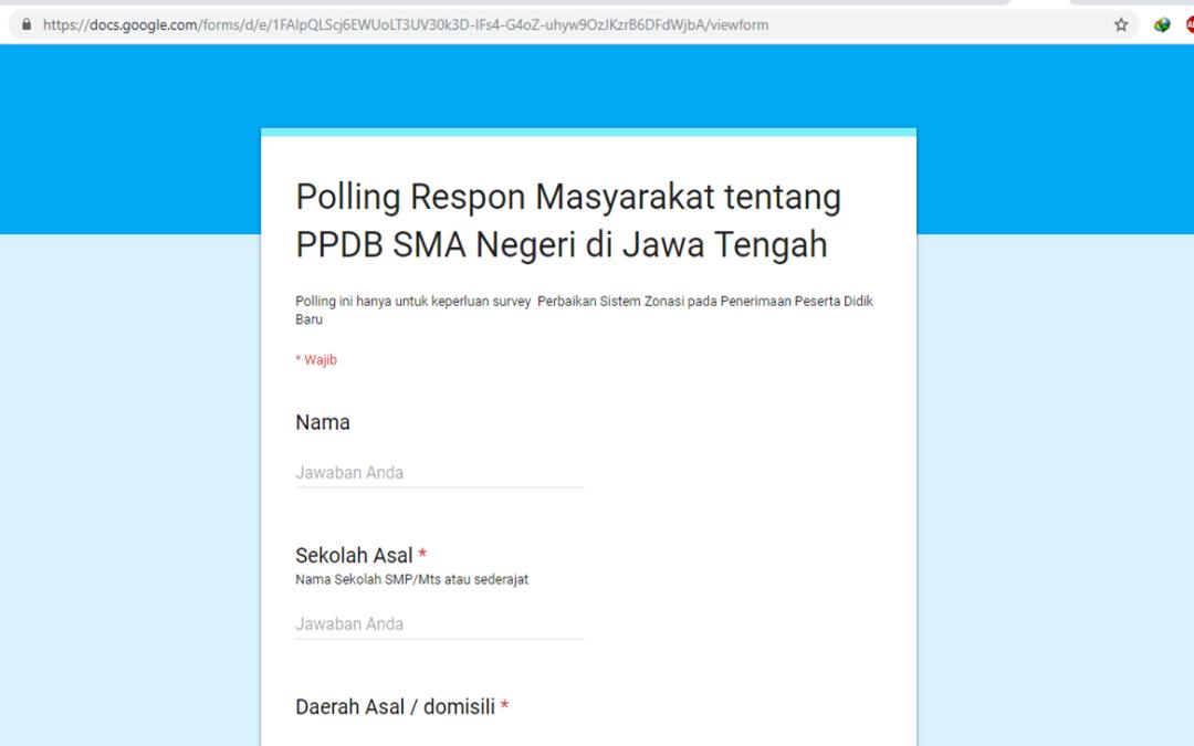 Polling PPDB 2019